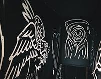 SAILORY JERRY X CROWBAR MURAL