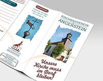 """Logo & Flyer """"Kirchbauverein Angerstein"""""""