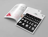 Préfecture de Police de Paris — Charte graphique
