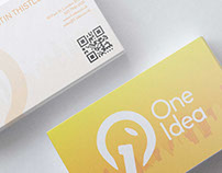 One Idea - rebranding (logo design)