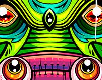 CREATURE X JUXTAPOZ