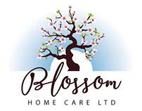 Blossom Homecare Logo Design
