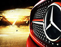 "Mercedes-Benz ""GNA Pyramids Heights Campaign"""