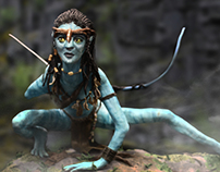 Neytiri - Sculpting