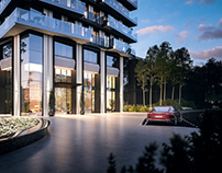 Rocca Towers Exterior 3D