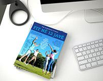 Fitness programme brochure