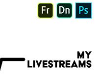My upcoming livestreams