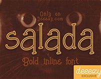 Free Font - Salada Bold Inline