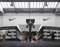 Jordan in-store installation