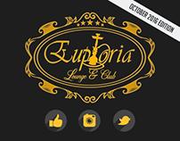Euphoria // Brunnen // Club Flyers & Posters Oct.2016