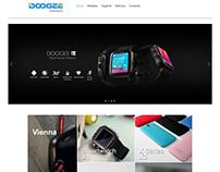 Diseño web www.doogee-ca.com