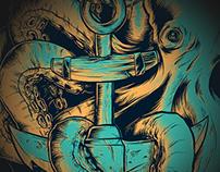 Seventh.Ink - Aquatic Aid Charity Shirt Design