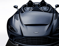 2020 Aston Martin V12 Speedster Black
