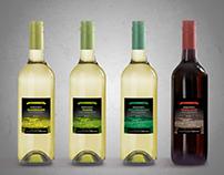 Csóka – borcímkék/wine label designs