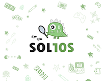 Character Logo Design - SOL