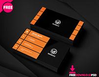 Modern Graphic Designer Business Card PSD Template