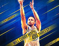 • Official NBA & WNBA social media graphics •