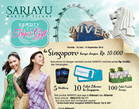 Sariayu promo - Beauty Trip & Gift