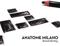 Anatome Milano - Brand Identity - Thesis Project Pt.1