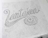 Laniakea Lettering