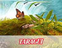 Taragüi Packaging - Landscape Illustration