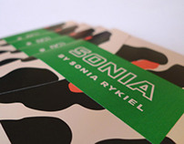 Sonia by Sonia Rykiel - Launch cocktail invitation
