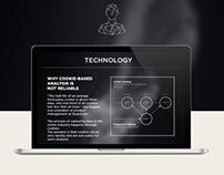 UI design for Myntelligence Company