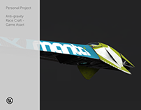 Personal Project - Anti-gravity Race Craft - Game Asset