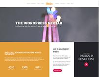 Nectar WordPress Theme Live Preview Website