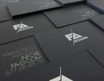 FA Design · Self Identity, Promos and Website