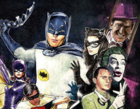 Batman TV Series Art