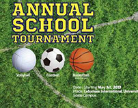 School Tournament Poster