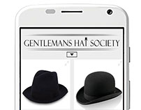 Gentlemans Hat Society App Shop