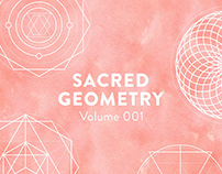 Sacred Geometry Vectors Volume 001 - FREE