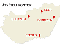 Pick up points Hungary
