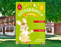 Plakat Osterbrunch