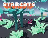 Starcats Menu Mockups