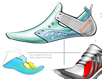 TRAINING FOOTWEAR SKETCHES