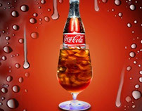 "Some posters "" Coca Cola"""