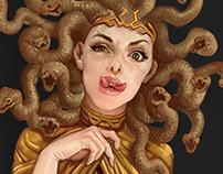 Medusa and Ye girls
