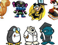 Character Design - Toon Designs
