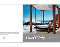 One&Only Resort - Brochure design