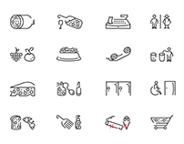 Personal Project - Ronda Market Pictograms