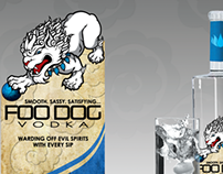 Foo Dog Vodka Labeling