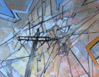 'Escape' ::  6 Panel Painting