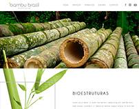 Criação Logo e Site Bambu Brasil