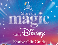 Share the Magic Festive Gift Guide brochure