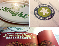 JTI Food for Thought Recipe Book Design