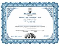 Shaurya Chess Academy_Certificate