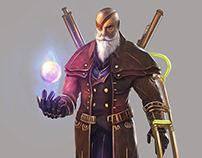 Character design (Carl von vander)